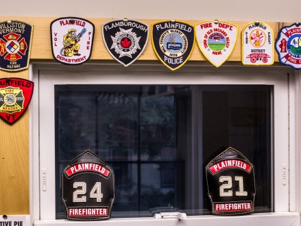 stickers badges firehouse office