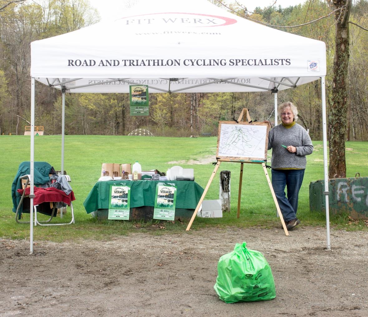 b at rec field tent