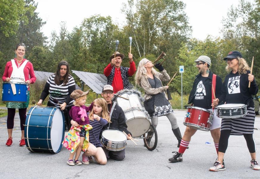group shot of band