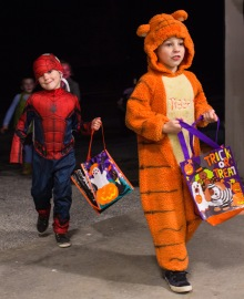 tigger and spiderman