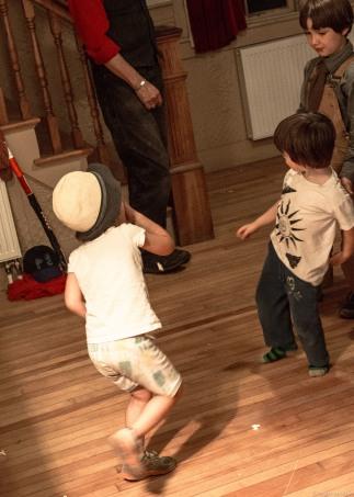 kids dancing one