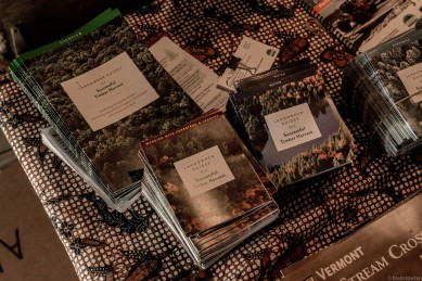 handouts on table