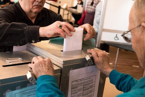 placing vote_