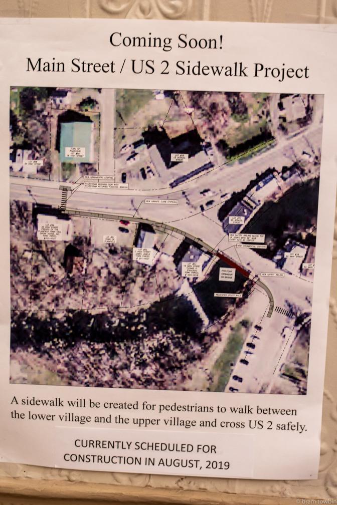 sidewalk project poster
