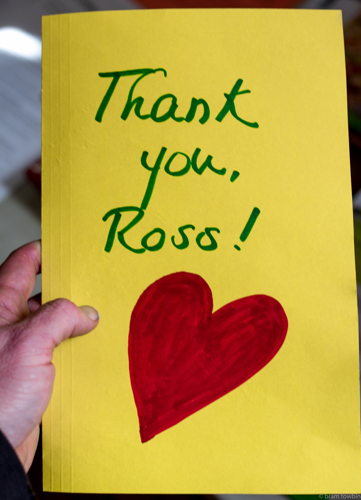 thank you ross
