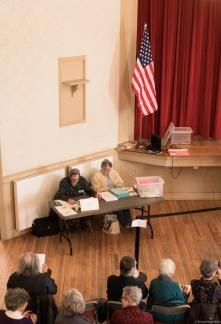 voter table flag