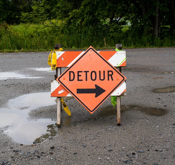 detour brook road